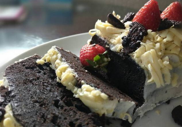 resep brownies oreo