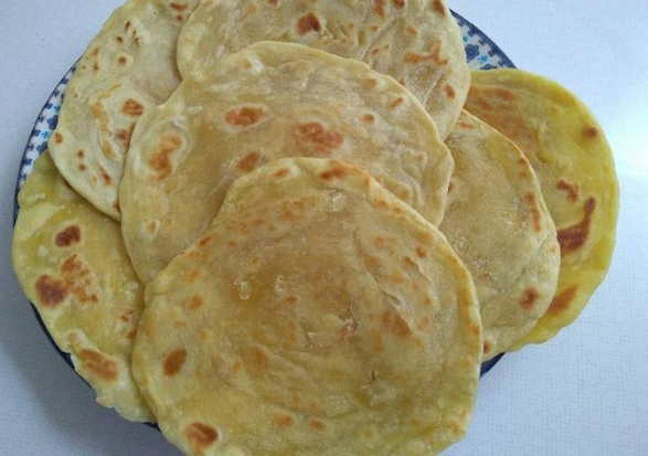 resep roti maryam step by step